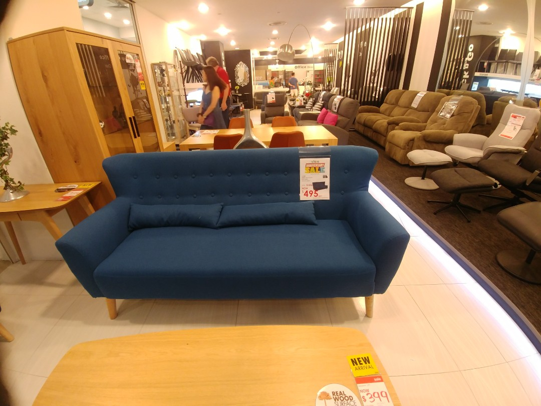 Enjoyable V Hive Blue 3 Sets Of Sofa Furniture Sofas On Carousell Caraccident5 Cool Chair Designs And Ideas Caraccident5Info