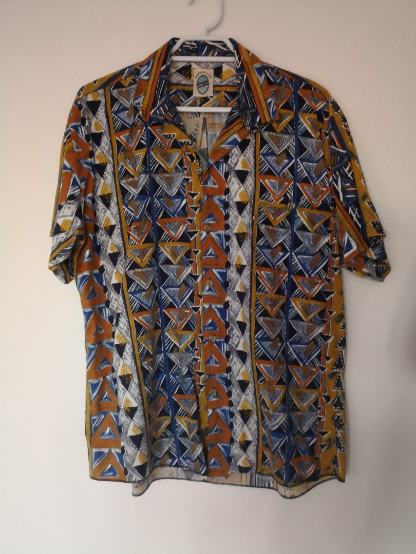 Vintage pattered funky shirt