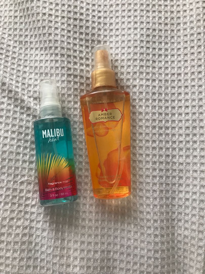 VS and BBW frangrance mists