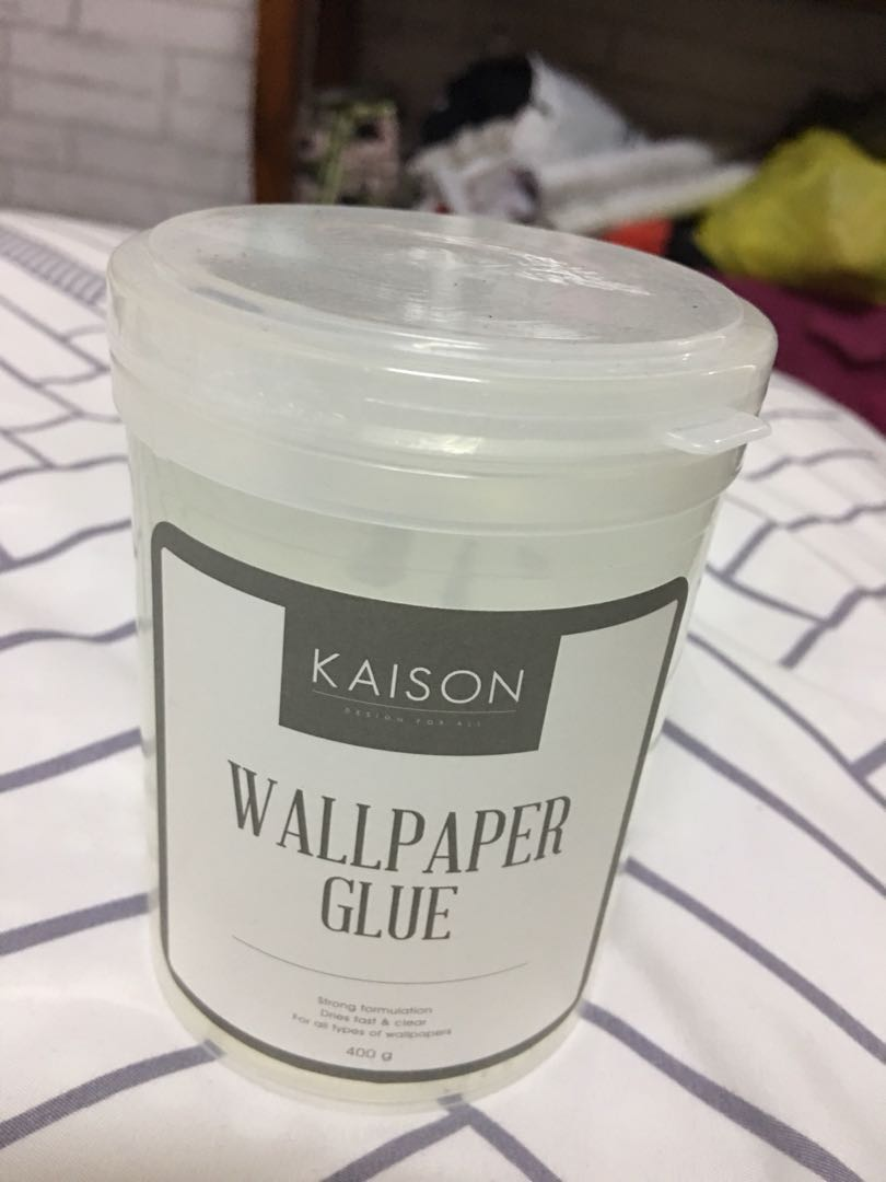 Wallpaper Glue, Home & Furniture, Home ...