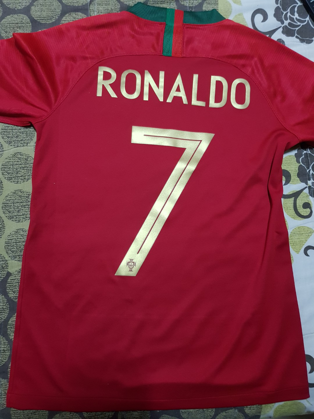 Authentic World cup 2018 Portugal home kit Jersey 43598c377