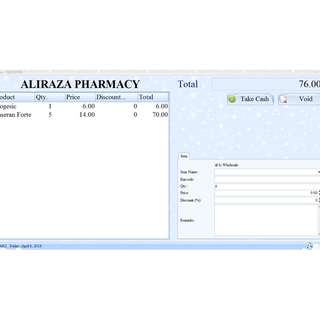 POS with Inventory System for Pharmacy