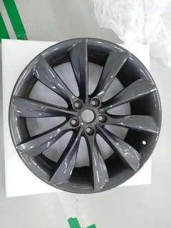 1x Tesla Sport Wheel 21x8.5J - (Grey)