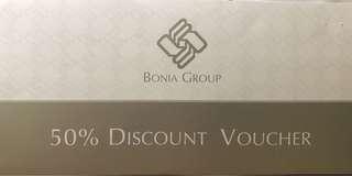 Bonia Group 50% Discount Voucher