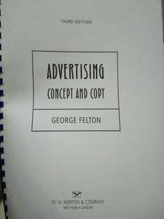 Advertising Concept and Copy by George Felton