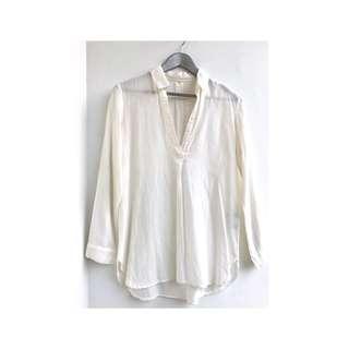 MUJI cotton white shirt