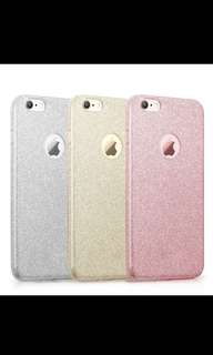 IPhone 7 Plus pink glitter cover
