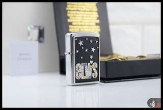 Zippo Original Elvis Bling 24177 Limited Edition Numbered only 10000