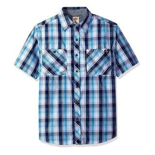 Dickies Men's Relaxed Fit Short Sleeve Plaid Shirt 男裝 短袖格仔恤
