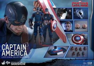 徵收Hottoys Captain America