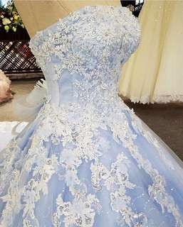 Light Blue Gown