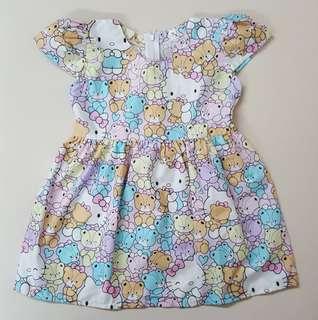 🐻 Hello Kitty teddy bear dress