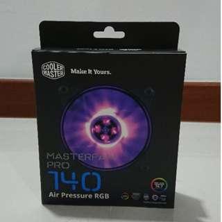 BNIB Cooler Master MasterFan Pro 140 Air Pressure