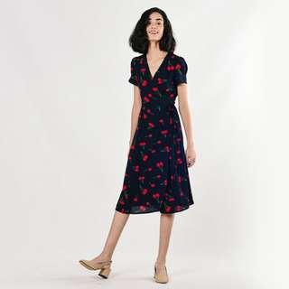 (PO) Irina Cherry Dress