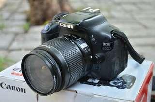 Camera Canon Eos 600D Cukup Bayar 800an aja