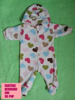 Carters Newborn Frogsuit