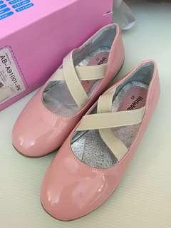 Little Blue Lamb Ballet Flats Leather Shoes