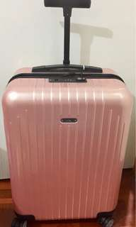 """RIMOWA Pearl Rose 22"""" suitcase Limited Addition Color"""