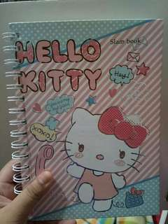 Preloved Hello Kitty Slam Book
