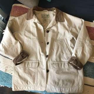 Vintage 90s LL Bean Barn Coat Size S-M
