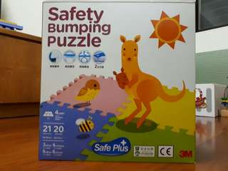 🚚 Safety Bumping Puzzle  3M 巧拼