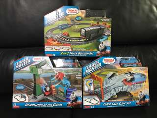 Thomas & Friends Motorized Action Railway Track Master