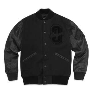 OVO October's Very Own x Roots Varsity Jacket Stealth Black (Small/Medium)