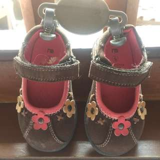 Mother care baby shoes chocolate