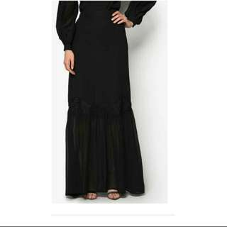 Bysi Chiffon Maxi Long Skirt