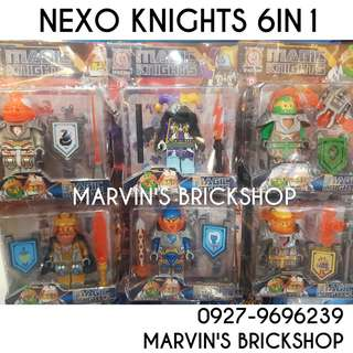 Nexo Knights 6in1 set 4 Inch Building Block Toy