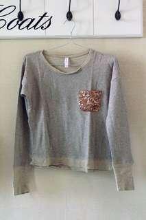 Gliter Gold Sweater