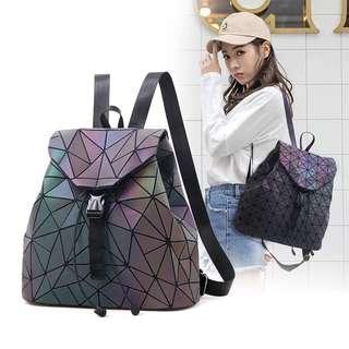 Luminous shoulder bag
