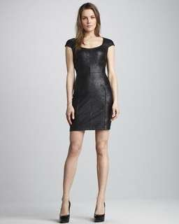 Graham Spencer leather dress