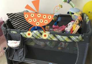 Baby Playpen (foldable and movable)