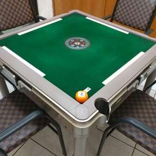 🚚 便宜 二手 電動 麻將桌 保固內 餐桌 四腳 穩固