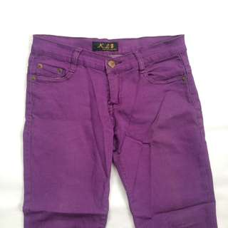 Purple Colored Pants