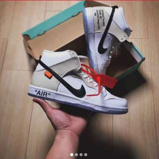 Nike SB Dunk x Off White