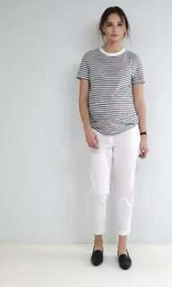 ASOS Maternity Tailored Linen Cigarette Trousers