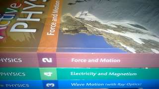 Active physic textbook 2,3,4