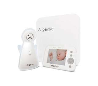 Angelcare AC1300 Baby Breathing Movement Monitor with 3.5'' Display and Wired Sensor Pad