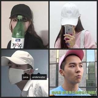 (INSTOCK) Korean Ulzzang plain baseball cap