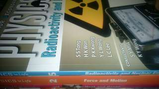 Physics in Life Textbook 1,2,5(You can see the respective topic in the picture)