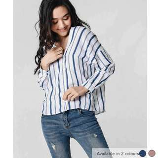 (PO) Corinne Striped Top