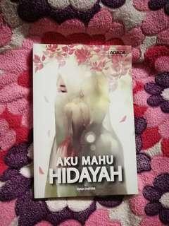 Novel aku mahu hidayah