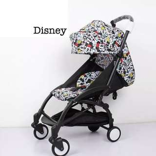 FULL Recline FREE Delivery Compact Stroller Pram Baby Yoya(Instock)