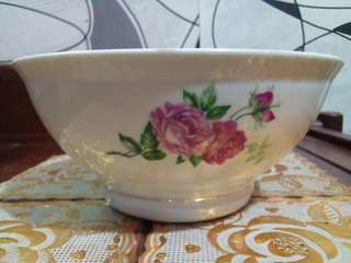RED PINK ROSES BOWL