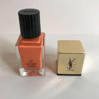 YSL Nail Polish (Coral)