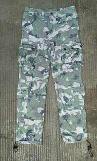 Long pants camo