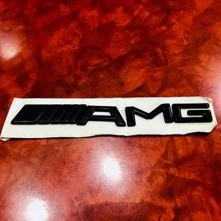 Mercedes Amg trunk emblem lettering