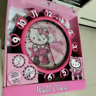 Hello Kitty 掛牆鐘